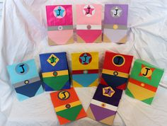 Superhero Party Favors Treat Goody Bags by CherishedBlessings, $13.99. Maybe for a party for my boys one year, but wanted to share for my friends planning superhero parties soon!