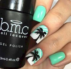 16 Special Summer Beach Nails Designs for Exceptional Look