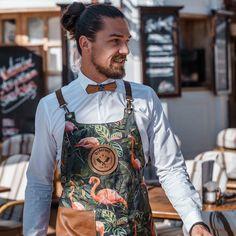 "Björn van der Toorn on Instagram: ""Be positive...and focus on the good!! #restaurantdiferent #calador #bepositive #focus"" Copper Color, Flamingo, Apron, Overalls, Van, Positivity, Good Things, Cotton, Instagram"