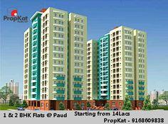 1 & 2 BHK Flats @ Paud Starting from 14 Lacs. #PropKat - 9168609838 #Pune #Paud #1BHK #2BHK
