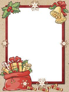 Christmas Card Template, Christmas Frames, Christmas Scenes, Christmas Clipart, Christmas Gift Tags, Christmas Paper, Diy Christmas Ornaments, Christmas Printables, Christmas Colors