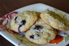 Every year during blueberry season, this recipe for Blueberries and Cream Cookies finds it's way to the front of my recipe file