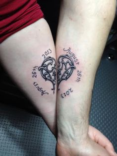 A Nice idea for a couples tattoo! I know we LOVE ours!