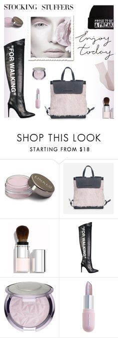 """""""The Greek Designers"""" by lacas ❤ liked on Polyvore featuring Chantecaille, Off-White, Sephora Collection, Winky Lux, Hot Topic, Brother Vellies, contestentry, polyPresents, thegreekdesigners and holidayL"""
