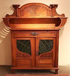 Art Nouveau Furniture | art nouveau server