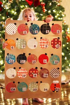 How to make an Advent Calendar | Lilyshop by Jessie Daye