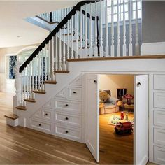 hidden room under stairs – Dream House