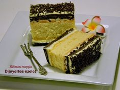 Díjnyertes szelet   Bibimoni Receptjei Vanilla Cake, Cheesecake, Recipes, Food, Cheesecakes, Essen, Meals, Ripped Recipes, Eten