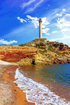 Cabo de Palos lighthouse on La Manga, Murcia, Spain by Danielitos Images on 500px