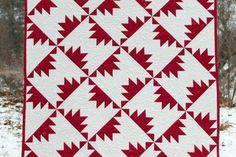 Free Pattern - Red and White   Quilting Tutorials   Bloglovin'