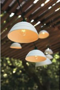 Modern Pigeon Toed string lights from Room & Board