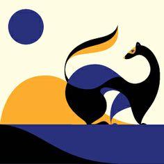 Gorgeous work by graphic artist Malika Favre http://www.malikafavre.com