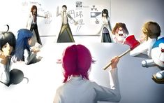 gate Part 3 - - Anime Image Dota 2 Cosplay, Anime Cosplay, Kurisu Makise, Mirai Nikki Future Diary, Princess Jellyfish, Yuno Gasai, Haruhi Suzumiya, Monogatari Series, Anime Crossover