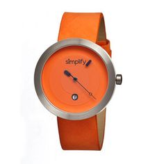 Simplify The 300 Unisex Orange, $75, now featured on Fab.
