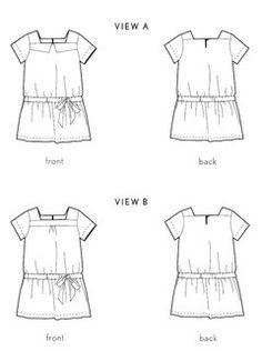 croquet dress sewing pattern
