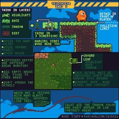 I'd love to design games in my free time. I already do this occasionally, and I've watched countless videos on what makes video games good. The pinned image hardly fits the theme, as it is just a tutorial for pixel art, but it's as close as I'm going to get for a game dev. related image! I want to, at some point in my life, release a fully developed game, whether it's indie or not, whether it's short or long.