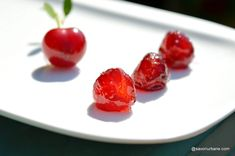 Fruits And Veggies, Vegetables, Cake Shop, Dessert Bars, Preserves, Cherry, Goodies, Food And Drink, Cooking Recipes