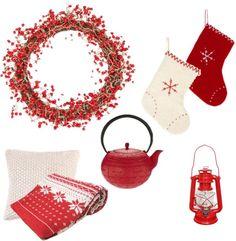 #Noël rouge #Home #DÉCO | lesrockalouves.com