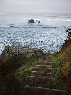 Caminando hacia el mar en busca de inspiración = Wandelen naar de zee voor inspiratie