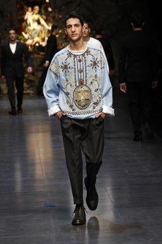 DOLCE & GABBANA Menswear FW 2014