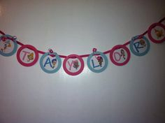 Bubble Guppies Banner Birthday  Decoration Favor via Etsy