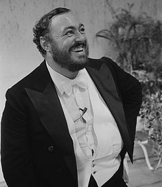 Luciano Pavarotti. love him