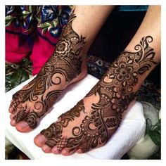 Wedding henna design 2017