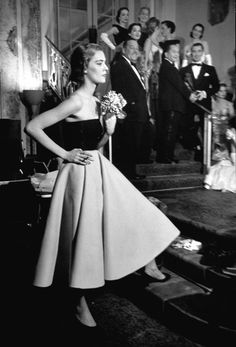 Now You Know: Charles James's Designs - Charles James Fashion Show, 1950 from #InStyle