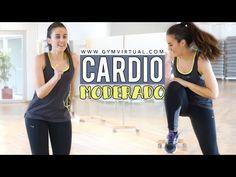 YouTube - gymvirtual - cardio moderado - reduzir celulite