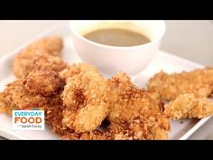 Corn Tortilla Crusted Chicken Tenders - Everyday Food with Sarah Carey ...