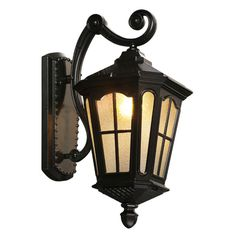 Exteriérové nástenné svietidlá Outside Porch Lights, Led Porch Light, Outdoor Ceiling Lights, Outdoor Sconces, Patio Lighting, Cool Lighting, Outdoor Lamps, Exterior Light Fixtures, Exterior Lighting