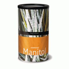 Manitol: NEW!!    Manitol is an odourless, crystalline polyol obtained from fructose or sugars extracted from seaweed or fungus. It has low hygroscopicity and is not moisturising. It has low sweetening power (50-60%) in comparison with saccharose. It is used for the crystallisation of all kinds of products.    Price per 700g - $40.83 NZD Fungi, Moisturizer, Tableware, Seaweed, Products, Texture, Moisturiser, Dinnerware, Mushrooms