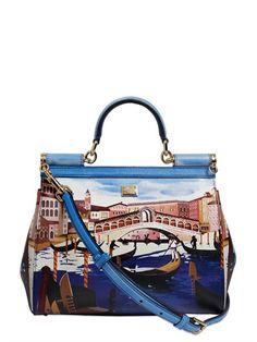 Dolce & Gabbana - Sicily Venezia Leather Bag