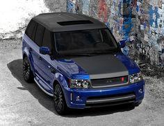 "Range Rover Sport Supercharged ""Bali Blue Myagi Edition"" by Kahn Design"