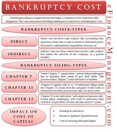 Bankruptcy cost could vary for different types of firms, but they fall under two heads – direct and indirect. Accounting Notes, Learn Accounting, Accounting And Finance, Accounting Information, Memes Gretchen, Economics Lessons, Financial Statement, Managing Your Money, Budgeting Finances