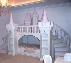 Princess playhouse bed.