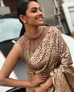 Stylish Fancy Blouse Designs For Latest Saree Blouses Designs From 2017 That Are Sure To Amaze YouAnita Hassanandani Images In Designer Latest Blouse Designs 2018 Patterns, Anita Hassanandani is an IndianLooking for stylish blouse designs fo Blouse Back Neck Designs, Netted Blouse Designs, Fancy Blouse Designs, Latest Blouse Designs, Shagun Blouse Designs, Latest Blouse Patterns, Lehenga Designs Latest, Latest Designer Sarees, Collar Designs