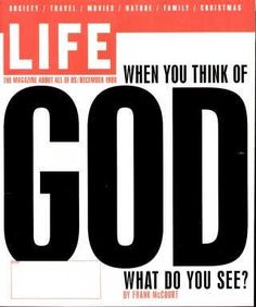"How People Think of God Life Magazine, December 1, 1998 issue -  Visit http://oldlifemagazines.com/the-1990s/1998/december-01-1998-life-magazine.html to purchase this issue of Life Magazine. Enter ""pinterest"" at checkout for a 12% discount."