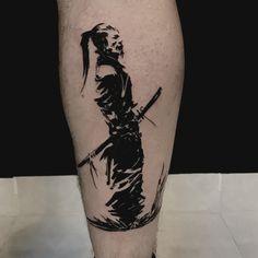 Samurai tattoo onur yucel