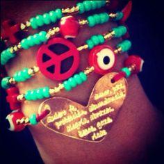 Peace & Love bracelet!
