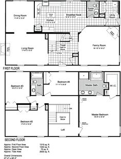 Simple, nice floor plan - love the loft over the foyer, I hate two