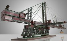 meccano | ... of a Victorian Hercules crane thats made of entirely out of Meccano