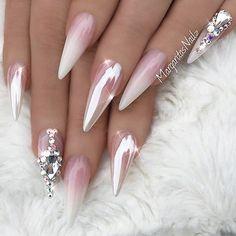 "#Nails #NailArt via - NAIL INSPO (@theglitternail) on Instagram: "": Picture and Nail Design by •• @margaritasnailz •• Follow @margaritasnailz for more gorgeous…"""