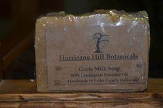 Check out Goats Milk Lemongrass Soap Bar on hurricanehill