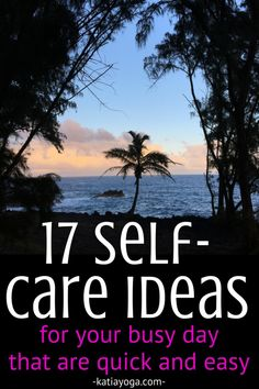17 self-care ideas a 17 self-care ideas and tips that are quick and easy for your busy day like mindfulness and gratitude Daily Meditation, Mindfulness Meditation, Coaching, Daily Life Hacks, Self Care Activities, Yoga Teacher Training, Self Development, Personal Development, Self Care Routine