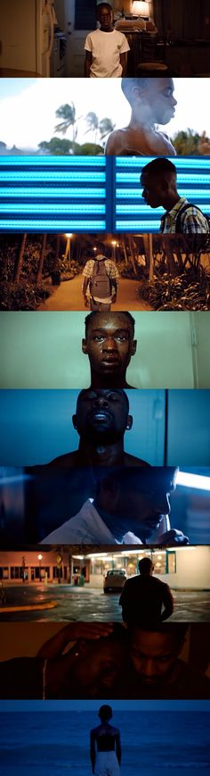Moonlight (2016) Director: Barry Jenkins. Photography: James Laxton.