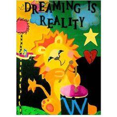 Trademark Fine Art Dreaming is Reality Canvas Wall Art by Amanda Rea, Size: 14 x 19, Multicolor
