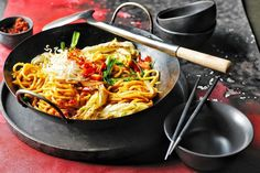 Aromatic, spicy and completely comforting, nothing beats a big bowl of noodles for dinner.