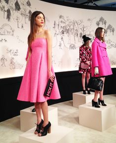 A girly girl's paradise at the kate spade ny AW15 presentation in New York