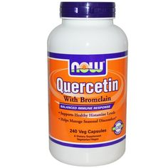 Buy Now Foods Quercetin with Bromelain 240 Vcaps at Megavitamins Supplement Australia,Discount on volume available. Learn more - where to buy and what are the pros & Cons Quercetin with Bromelain 240 Vcaps.